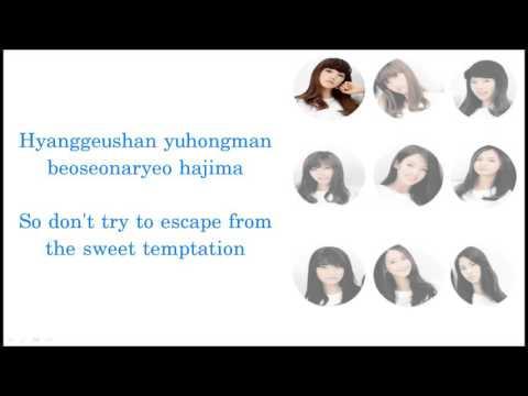 Girls' Generation/SNSD (소녀시대) - DESTINY Lyrics (ENG + ROM)