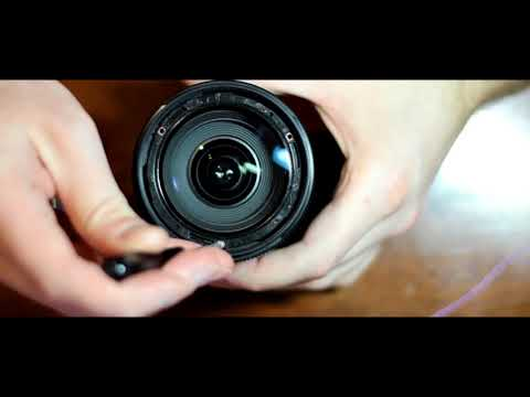 How to clean the lens from dust