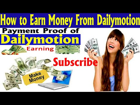 Dailymotion Earning Tricks  | Dailymotion Website Monetization | Earn money from Dailymotion