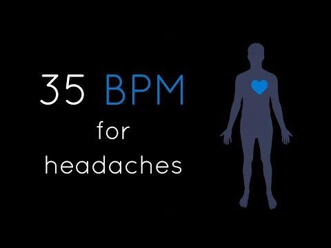 1h Heartbeat + Deep Bass (35 BPM) | Relaxing Meditation Music