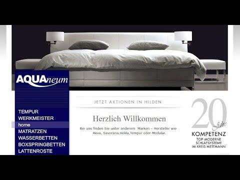 Wasserbetten Matratzen Bei Aquaneum Hilden Dusseldorf Mettmann