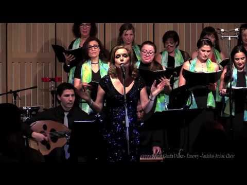 Ya Man Hawa, Andalus Arabic Choir Live featuring Ghada Daher-Elmowy