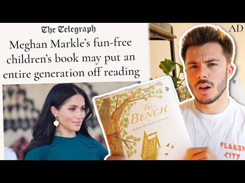 i read Meghan Markle's book — is it as bad as the media says? *honest review of The Bench*