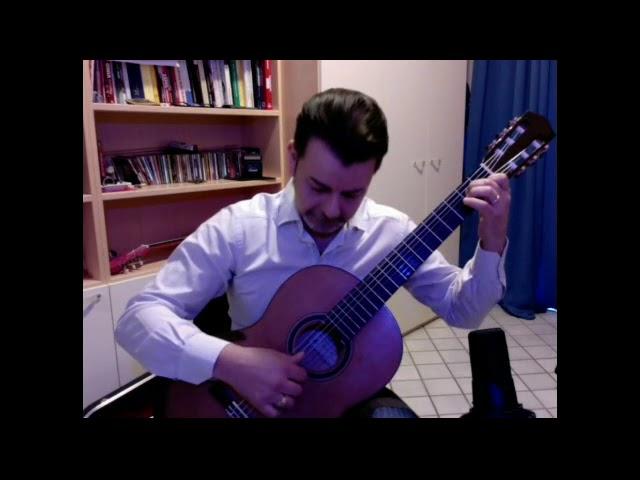Un grande maestro di chitarra con il Gargano nel cuore! Recuerdos de Vico