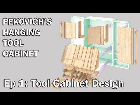 Tool Cabinet Design with Mike Pekovich–Hanging Tool Cabinet 1