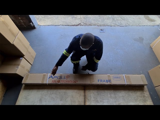 Frame Assembly Part 1: Unboxing the Frame for an Integrated High-Pressure System