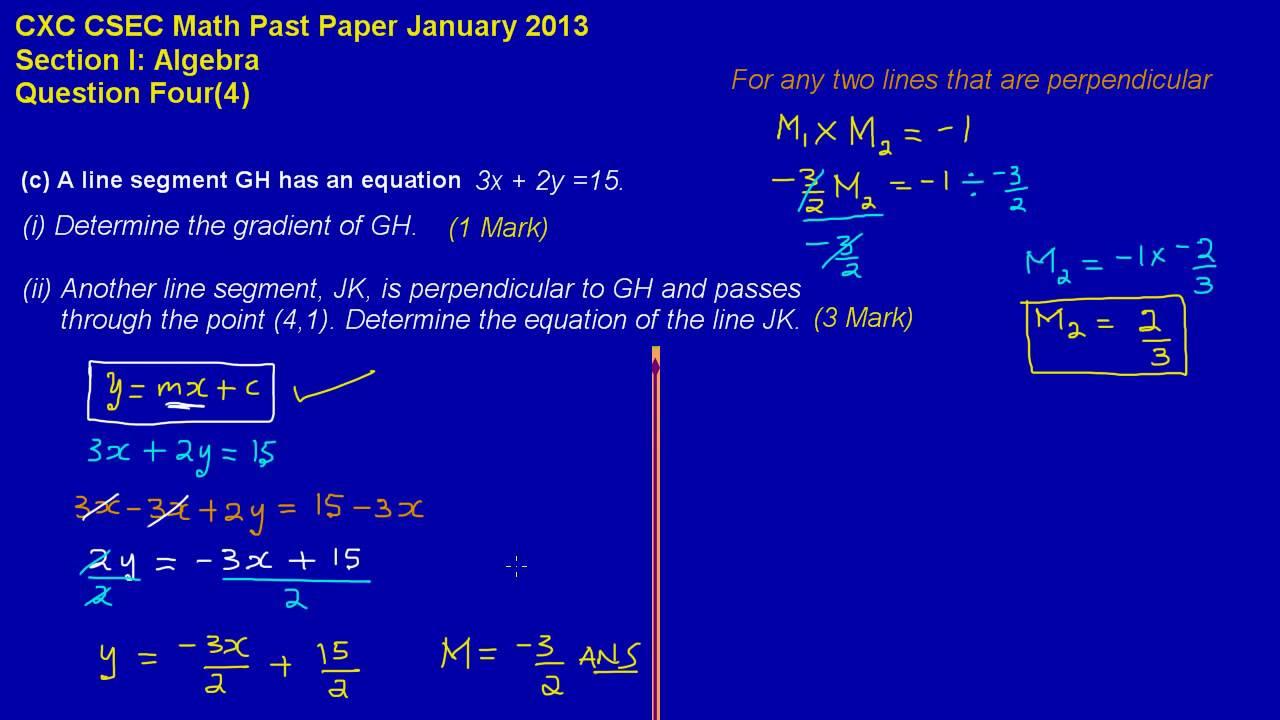 Cxc past papers online