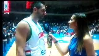 Lebanon Vs Jordan Jean Abd Nour And Patrick Saba Interview