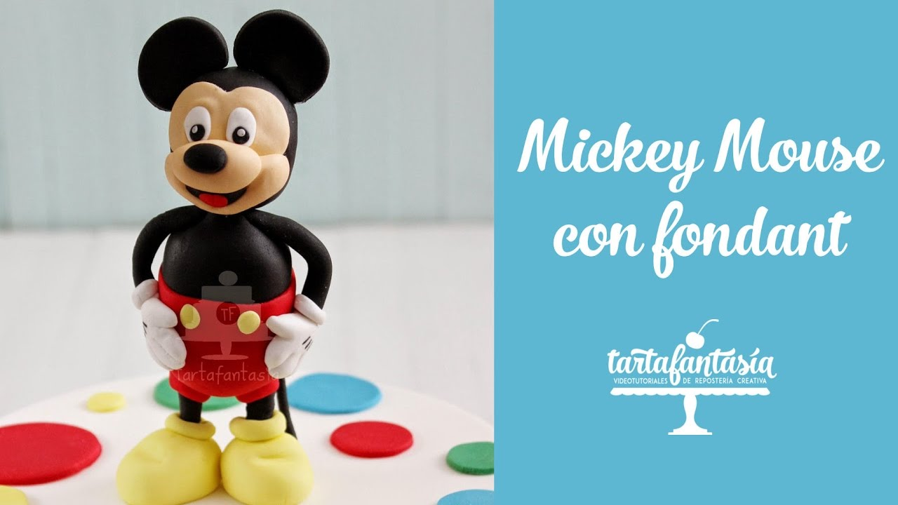 How To Make A Mickey Mouse Cake Without Fondant