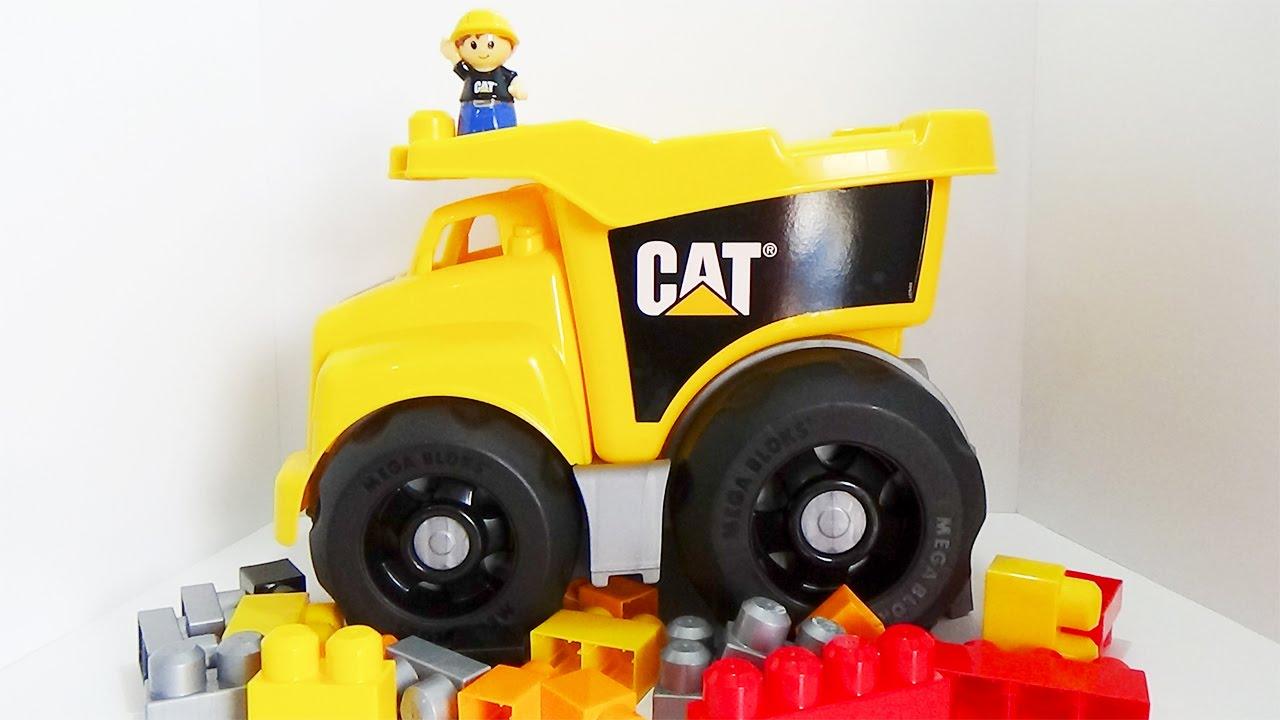 Cat Dump Truck Mega Bloks 7845 Includes 25 Pcs Mega Bloks Toy Review
