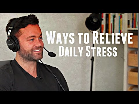 Drew Canole on Ways to Relieve Daily Stress with Lewis Howes