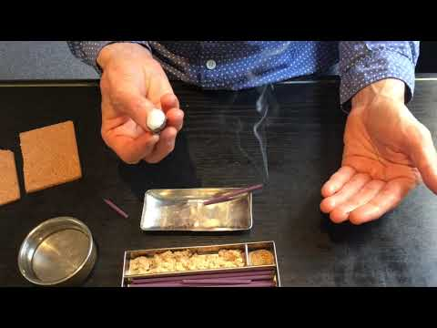 Okyu Moxa - direct rice grain moxibustion