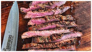 Flank Steak marinieren - die leckerste Steak Marinade!