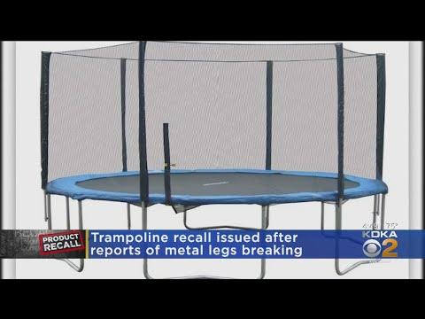 Deanna King - RECALL ALERT: Certain Trampolines Pose Fall and Injury Hazards