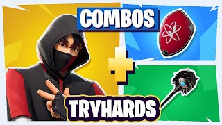 🌈 SKINS'S BEST *COMBOS* MORE *TRYHARDS* in Fortnite - Combinations of 💪 Pros