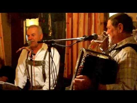 Original german Austrian Country Music in a cabin in the moutains alps Austria