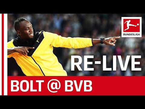 Usain Bolt at Borussia Dortmund Training ⚽ - Full Length