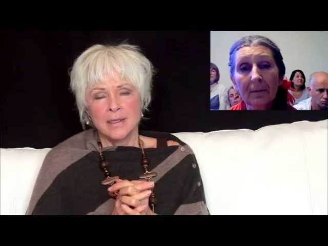 Byron Katie - Believing in our thoughts goes against our Heart