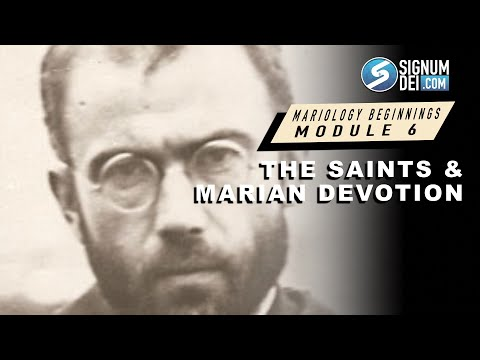 Mariology Beginnings: The Saints and Marian Devotion