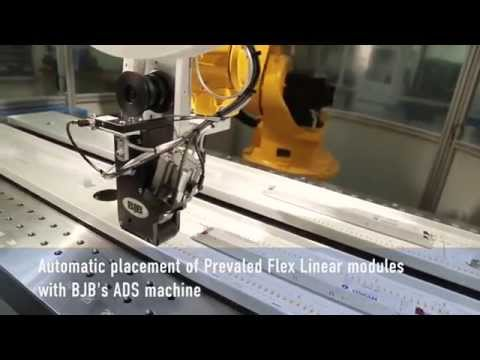 BJB - Automatic placement, wiring and testing of Osram Prevaled Flex Linear modules