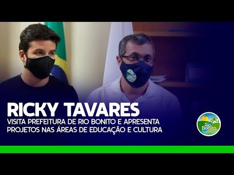 RICKY TAVARES VISITA PREFEITURA E APRESENTA PROJETOS NAS ÁREAS DE EDUCAÇÃO E CULTURA