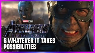 Avengers Endgame: Six Ways This Could Play Out!