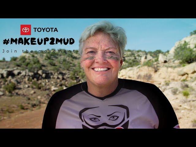 Toyota #Makeup2Mud: Pat Jaques