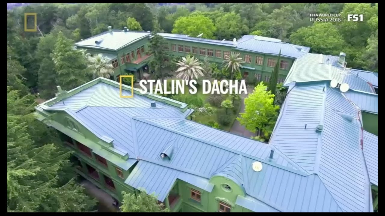 STALIN'S DACHA - for National Geographic