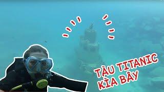 Tìm Được Tàu Đắm Siêu Nổi Tiếng Dưới Đáy Biển || Ohsusu Lần Đầu Đi Lặn