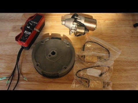Preditor 212/ Honda Gx160/gx200 Electric Start Kit Unboxing