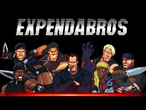 THE EXPENDABROS Trailer [The Expendables Video Game]
