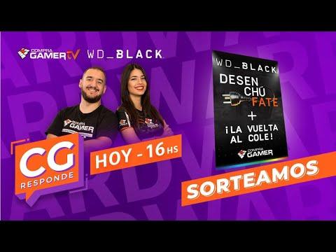 Download Sorteo Desenchufate + la vuelta al cole con WD_Black// CG Responde // #CompraGamerTV