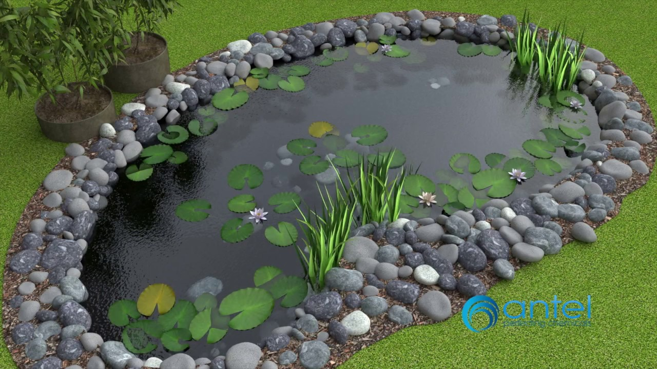 Pond Paint Koi/Fish Friendly - Waterproof Paint for Pools