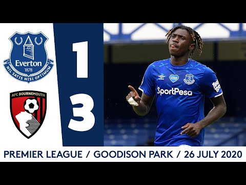 Everton Bournemouth Goals And Highlights