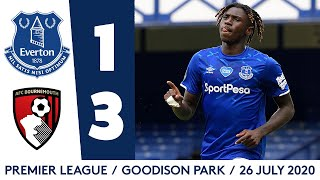 EVERTON 1-3 AFC BOURNEMOUTH | PREMIER LEAGUE HIGHLIGHTS
