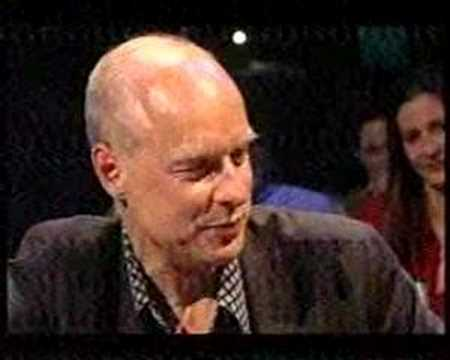 Brian Eno on Later, 2001.