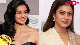 Alia gives a hard-hitting reply to Kangana | Kajol denies speaking on Alok Nath controversy & more