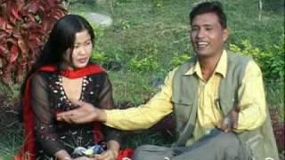 Download Sirima Sanko - Micro chadhi jau na Dharana - Khagendra Sitoula and Juna Prasain - Purbeli lok geet Mp3