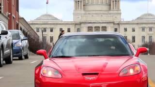 Corvette at Paul Masse - Rhode Island Landmarks
