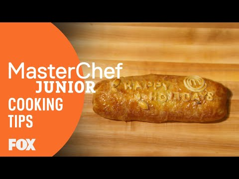 Cooking Tips: Beef Wellington | Season 5 | MASTERCHEF JUNIOR