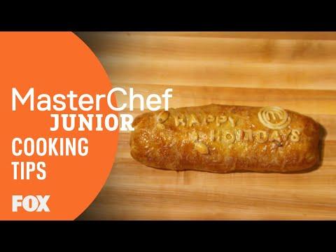 Cooking Tips: Beef Wellington   Season 5   MASTERCHEF JUNIOR