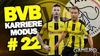 FIFA 17 KARRIEREMODUS BVB #22 ♕ CHAMPIONS CUP Gegen AJAX AMSTERDAM ♕ FIFA 17 Karrieremodus German