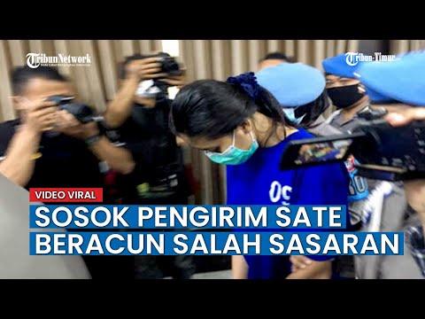 Ditangkap Polisi, Ini Sosok Wanita Misterius Pengirim Sate Yang Sebabkan Anak Sopir Ojol Tewas