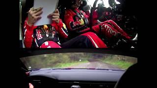 WRC WALES - ONBOARD C3!