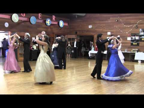 Viennese Waltz Occidental College Folk Dance Troupe Performing Johann Strauss's Roses from the South