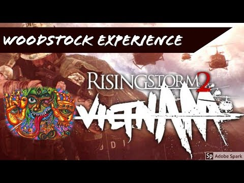 Video games ON ACID!? - Rising Storm 2 Vietnam - The Woodstock Experience - HD 60 FPS  