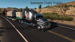 Mod: Siemens Trafo Trailer Download: https://ats.modhoster.de/mods/siemens-trafo-trailer--2  Spiel: American Truck Simulator