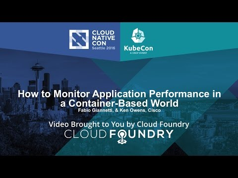 How to Monitor Application Performance in a Container-Based World