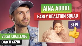 Download Vocal Coach YAZIK reaction to Aina Abdul - SEPI | MUSIC VIDEO