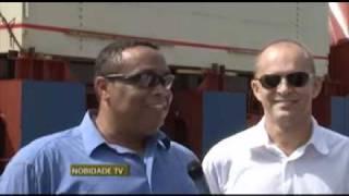 NobidadeTV: Kriola, Cabo Verde Fast Ferry, arrives in Praia